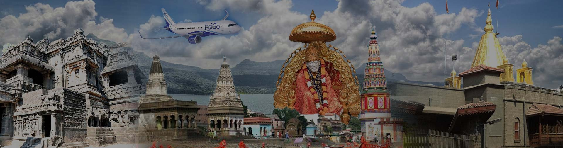 coimbatore to shirdi flight package